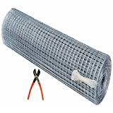 RED WIND Iron Tree Fencing Net/Bird Net 18 Guage HDPE 1 Year Guarantee (3feet Height/5feet Length) UV Stabilized Heavy 800GSM Anti Bird Net with Free 1 Cutter,50 PVC Tags Model NO:1