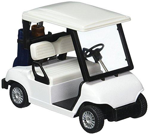 KinsFun Diecast Golf Cart No Decals