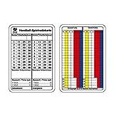 b+d Carte d'arbitrage handball 100 pièce, allemand