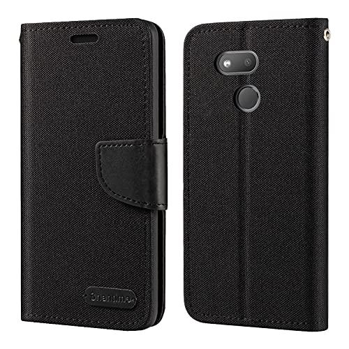 HTC Desire 12S Hülle, Oxford Leder Wallet Hülle mit Soft TPU Back Cover Magnet Flip Hülle für HTC Exodus 1S