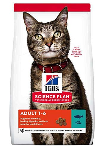 Hill's feline adult optimal care tonijn kattenvoer 3 KG