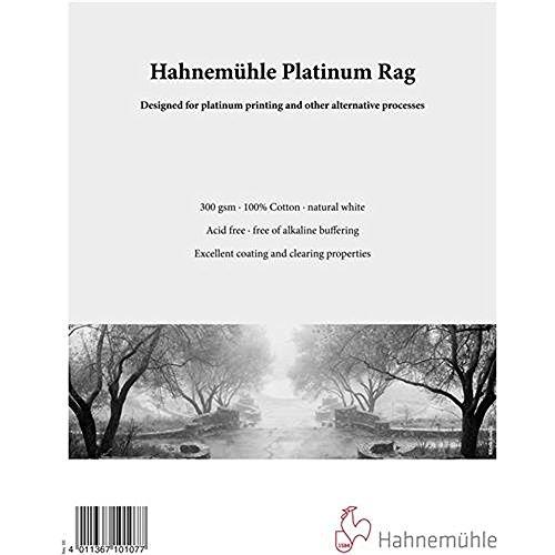 Hahnemhle Platinum Rag Fine Art Paper (8 x 10', 25 Sheets)