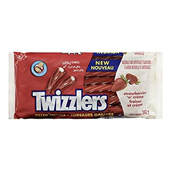 TWIZZLERS Licorice Candy Strawberries N  Creme 343g/12oz  Imported from Canada