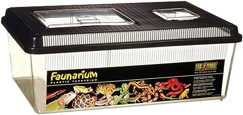 Exo Terra - Faunarium, Terrario multiusos para reptiles / anfibios, multicolor, 45,7 cm x 30,5 cm x 16,5 cm