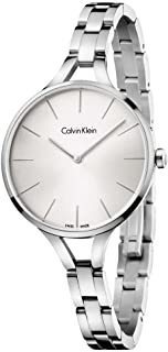 Calvin Klein Women's Analogue Quartz Watch with Stainless Steel Strap K7E23146