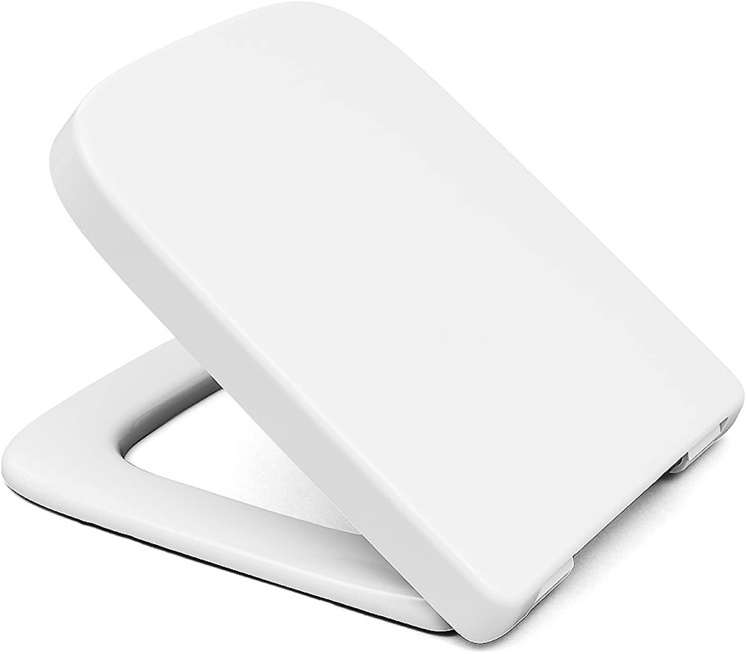 Bath & more Baltrum 150010590 Toilet Seat Stainless Steel Hinges White