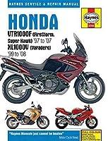 Honda VTR1000F (FireStorm, Super Hawk) '97 to '07 KL1000V (Varadero) '99 to'08 (Haynes Service & Repair Manual)