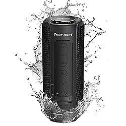 [ 40 Watt Subwoofer et IPX6 Waterproof ] Avec l'exclusivité brevetée Tronsmart SoundPulse™ 40W profitez d'un haut pouvoir de sortie du son. Combiné avec le certificat IPX6 waterproof, cela veut dire qu'il s'adapte à n'importe quelle situation, tel qu...