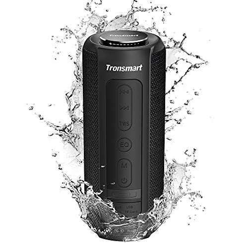 Tronsmart T6 Plus Altavoz Bluetooth 40W, Altavoces Portatiles Waterproof IPX6 con Powerbank,...