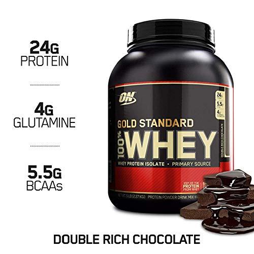 Optimum Nutrition ON Gold Standard 100% Whey Proteína en Polvo Suplementos...