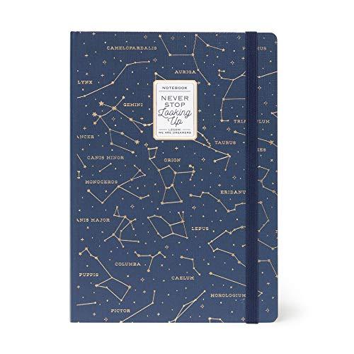 Legami NOTP0090 – Cuaderno grande, multicolor (Stars)