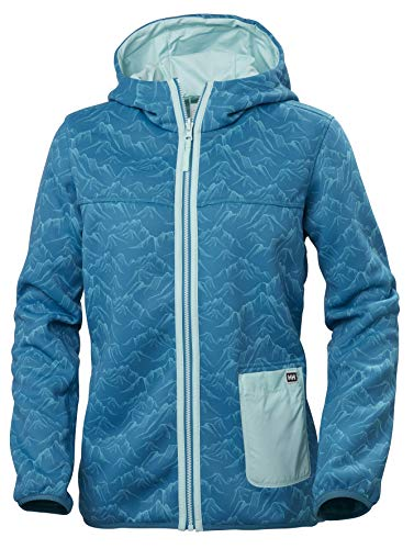 Helly Hansen Damen Verket Reversible Pile Jacke, Blue Wave, L