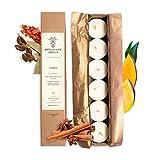 SMELLS LIKE SPELLS Velas perfumadas de té – hechas de cera de soja – Ideal para aromaterapia – Regalo natural hecho a mano para cumpleaños, día de San Valentín, Navidad – 6 unidades, talla única