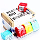 fengkengji Anti-Theft Guard Stamp ID Protection Confidential Roller Stamp Kit Identity Theft Prevention Security Stam Perfect for Data Privacy ID Protection and Address Blocker