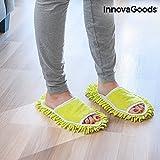 InnovaGoods   zapatillas mopa   Microfibra   Color verde   Multi-función
