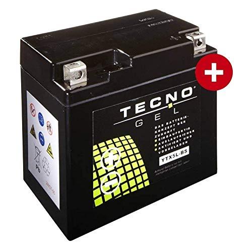 YTX5L-BS Tecno Gel-bateria para Grand Dink 50 G-Dink Año 2013-2015