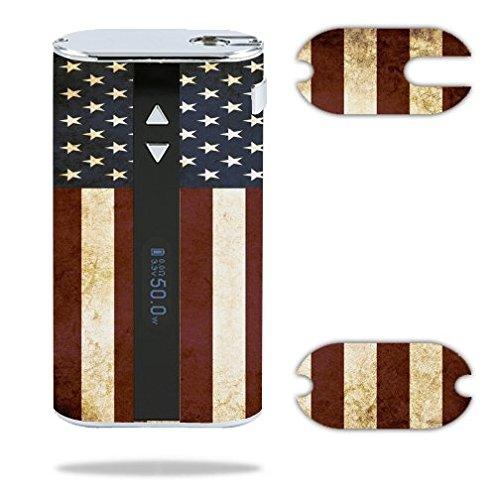Decal Sticker Skin WRAP American Flag Grunge...