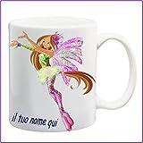My Cust Mug Tazza Winx Personalizzata con Nome Frase O Foto - Idea Regalo
