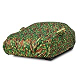 Smaw Funda Coche Antigranizo ProteccióN AutomóVil Impermeable, Resistente Al Sol, Polvo, Viento, Lluvia, Nieve Y RasguñO (Color : Camouflage)