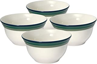 Pfaltzgraff Ocean Breeze Deep Soup/Cereal Bowl (24-Ounce, Set of 4)