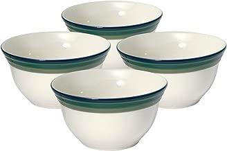 Pfaltzgraff Ocean Breeze Deep Soup/Cereal Bowl (24-Ounce, Set of 4)