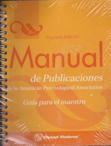 Manual de Publicaciones de la American Psychological Association