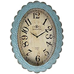 TIC Collection Lafayette Clock, Blue