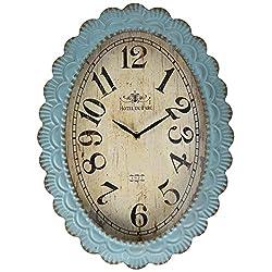 TIC Collection Lafayette Clock, Blue
