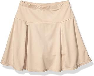 Chaps Girls' Uniform Sensory-Friendly Active Pleated Skort