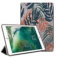 PRINDIY iPad mini 3,iPad mini 2/1 ケース,iPad mini タブレットケース,耐久性 耐衝撃 3つ折り スタンド機能付き PC + PUレザー 傷防止 3つ折り スタンド機能付き クリア バックカバー iPad mini 3/2/1 Case,iPad mini Cover-B 61