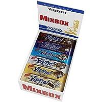 Weider Yippie Bar. Barrita de Proteína 36%. Bajo contenido en Carbohidratos y Azúcares. Sabores variados (12x70 g)