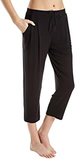 Women's Modal Spandex Jersey Capri Pants