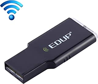 Banda Dual 11AC 600 Mbps Alta Velocidad Adaptador USB inal/ámbrico Receptor WiFi Computer YHM EDUP EP-AC1661 2 en 1 Bluetooth 4.2