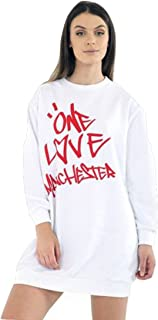 Momo&Ayat Fashions Ladies Girls Love Manchester Sweatshirt Tshirt US Size 4-12