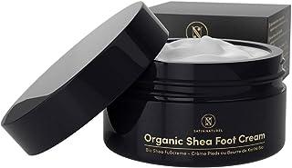 Crema para Pies ORGÁNICA de Manteca de Karité 100ml – Crema Reparadora para Pies Secos Talones Agrietados – Masaje y Pedi...