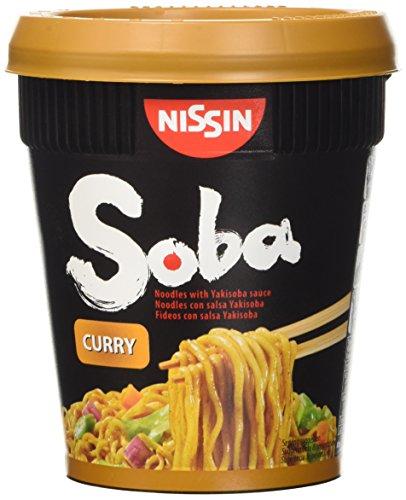 Nissin Yakisoba, Noodle di Grano Saraceno al Curry Istantanei - 88 gr
