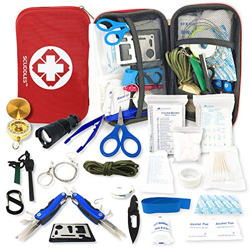 Emergency Trauma Tactical Kit - First Aid SurvivalKit - First Medical Portable...