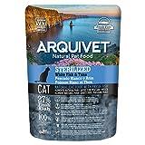 ARQUIVET - Pack 8 Bolsas Pienso Pescado Blanco y atún Frescos para Gatos esterilizados - Comida para Gatos - Alimentos para Gatos - Comida para felinos - Cantidad: 2800 gr (350 gr x 8 Unidades)