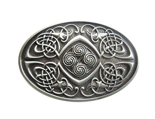 Schnalle123 Gürtelschnalle Celtic Keltischer Knoten Phoenix 3D Optik für Wechselgürtel Gürtel Schnalle Buckle Modell 105
