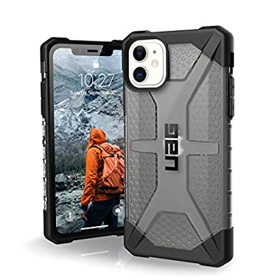 UAG Designed for iPhone 11 [6.1-inch Screen] Plasma Feather-Light Rugged [Ash] Military Drop Tested iPhone Case