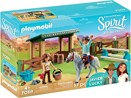 Playmobil - Espace d'entrainement avec Lucky et Javier - 70119