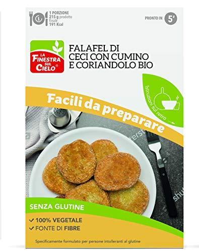 La Finestra Sul Cielo Preparato per Falafel con Ceci, Cumino e Coriandolo senza Glutine Bio - 100 g