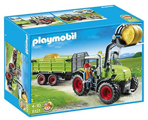 PLAYMOBIL - Tractor con tráiler (5121)