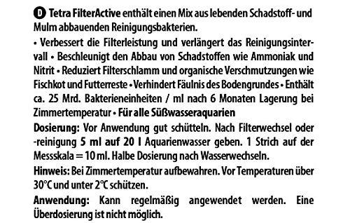 Tetra Delights Filter Active 100ml-Bio-condizionatori per acquari, Multicolore, Unica
