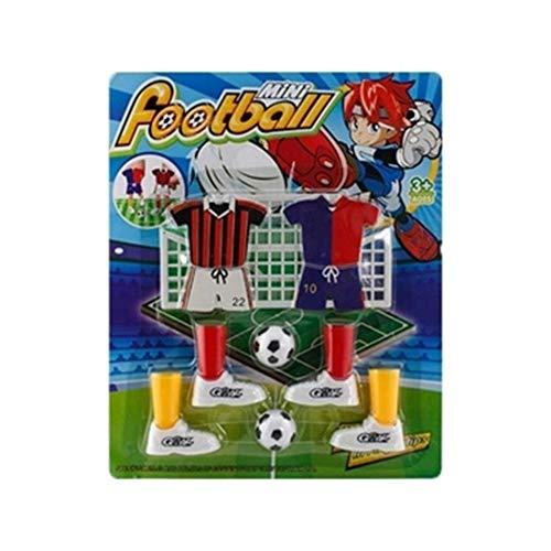 FEKETEUKI Mini Juego fútbol Juego Dedos Juego fútbol