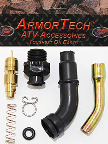 ARMOR TECH Carburetor Carb Choke Plunger Starter Valve Kit for the 1985-1987 Honda ATC 250ES Big Red & ATC 250SX