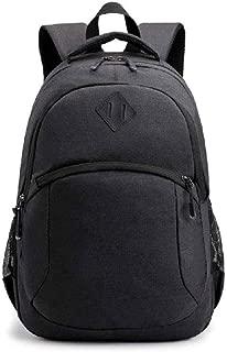 ZXBAO Backpack-School Backpack, Unisex Classic Water-Resistant Backpack for Men Women. (Color : Black)
