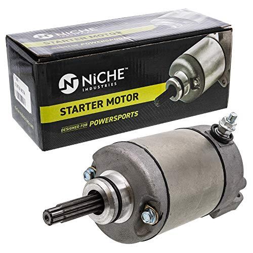 NICHE Starter Motor Assembly 31200-HN1-A41 High Torque for Honda Sportrax 400 TRX400EX TRX400X