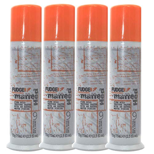 Fudge Lot de 4 tubes Matte Hed 75 g
