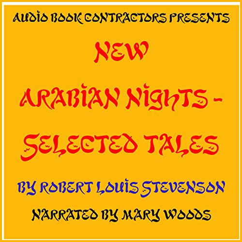 New Arabian Nights - Selected Tales audiobook cover art